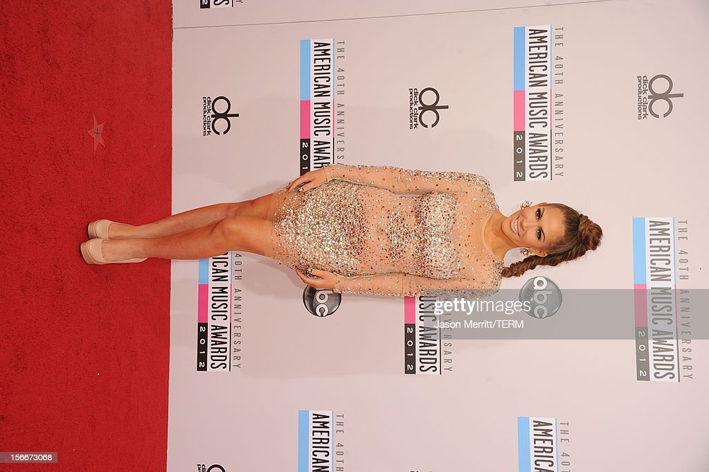Singer Kimberly Cole attends the 40th American Music Awards held at Nokia Theatre L.A. Live on November 18, 2012 in Los Angeles, California.