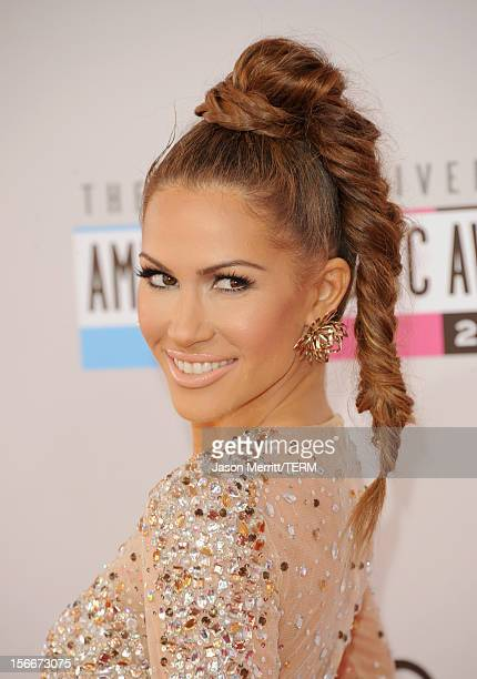 Singer Kimberly Cole attends the 40th American Music Awards held at Nokia Theatre LA Live on November 18 2012 in Los Angeles California