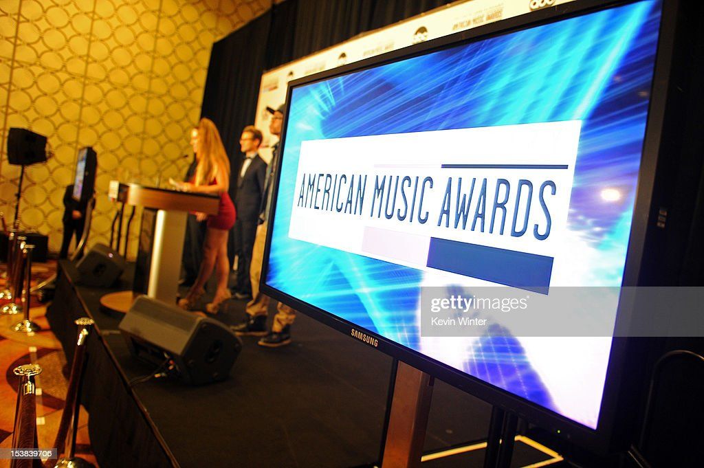 Singer Kimberly Cole speaks onstage during the 40th Anniversary American Music Awards nominations press conference at the JW Marriott Los Angeles at L.A. LIVE on October 9, 2012 in Los Angeles, California.
