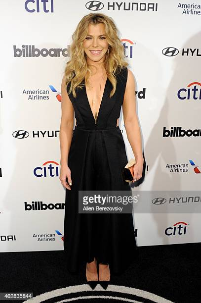 Singer Kimberly Perry of The Band Perry attends the 2015 Billboard Power 100 Celebration at Bouchon on February 5 2015 in Beverly Hills California
