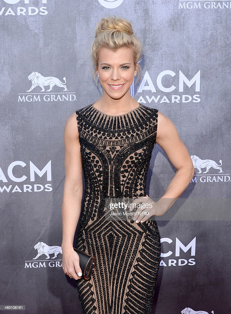 Singer Kimberly Perry of The Band Perry attends the 49th Annual Academy Of Country Music Awards at the MGM Grand Garden Arena on April 6, 2014 in Las Vegas, Nevada.