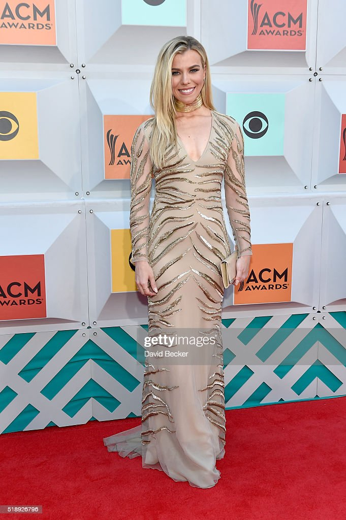 Singer Kimberly Perry of The Band Perry attends the 51st Academy of Country Music Awards at MGM Grand Garden Arena on April 3 2016 in Las Vegas Nevada