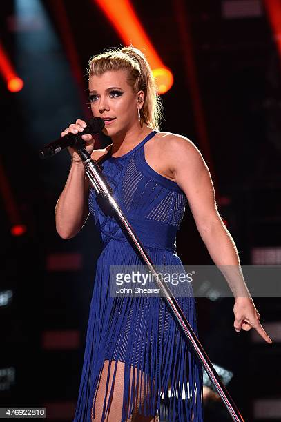 Singer Kimberly Perry of The Band Perry performs onstage during the 2015 CMA Festival on June 12 2015 in Nashville Tennessee