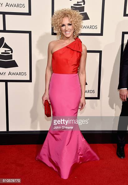 Singer Kimberly Schlapman attends The 58th GRAMMY Awards at Staples Center on February 15 2016 in Los Angeles California