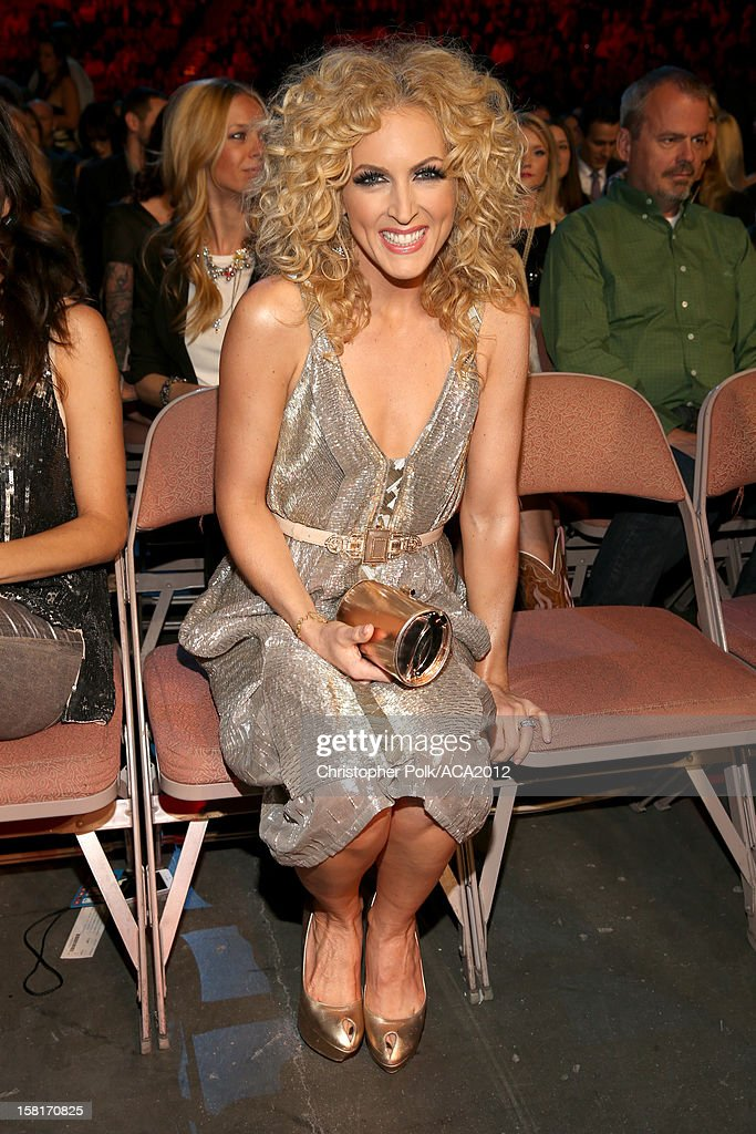 Singer Kimberly Schlapman of Little Big Town attends the 2012 American Country Awards at the Mandalay Bay Events Center on December 10, 2012 in Las Vegas, Nevada.