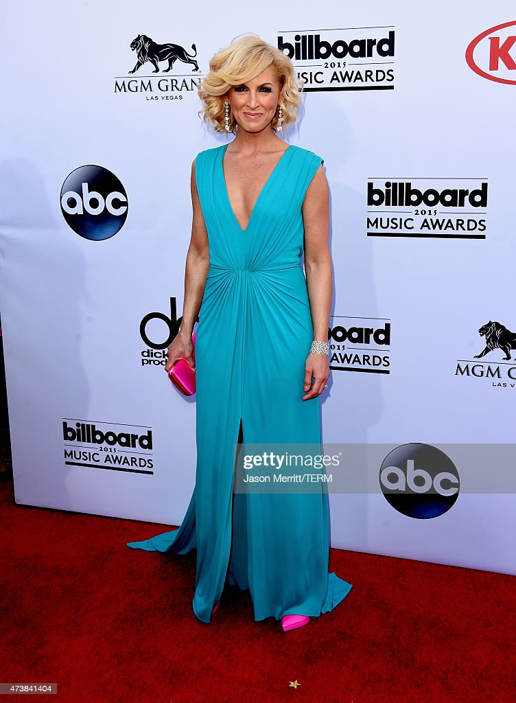 Singer Kimberly Schlapman of Little Big Town attends the 2015 Billboard Music Awards at MGM Grand Garden Arena on May 17 2015 in Las Vegas Nevada