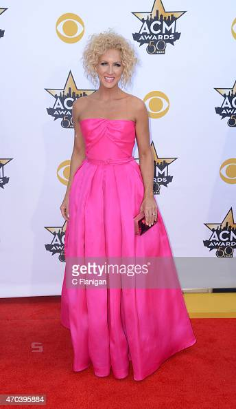 Singer Kimberly Schlapman of Little Big Town attends the 50th Academy Of Country Music Awards at ATT Stadium on April 19 2015 in Arlington Texas