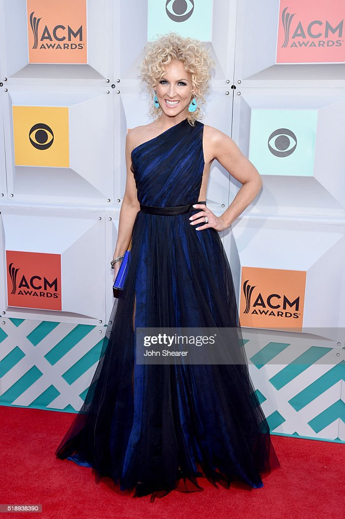 Singer Kimberly Schlapman of Little Big Town attends the 51st Academy of Country Music Awards at MGM Grand Garden Arena on April 3 2016 in Las Vegas...