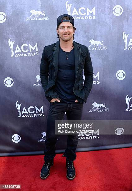Singer Kip Moore attends the 49th Annual Academy of Country Music Awards at the MGM Grand Garden Arena on April 6 2014 in Las Vegas Nevada
