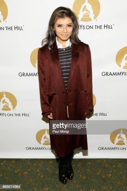 Singer Kirstin Maldonado at The Recording Academy®'s 2017 GRAMMYs on the Hill® Awards on April 5 to honor fourtime GRAMMY® winner Keith Urban with...