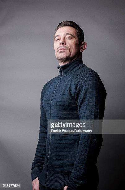Singer Kool Shen is photographed for Paris Match on February 12 2016 in Paris France