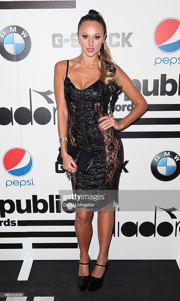 Singer Korr-A attends Republic Records Post Grammy Party at 1 OAK on January 26, 2014 in West Hollywood, California.