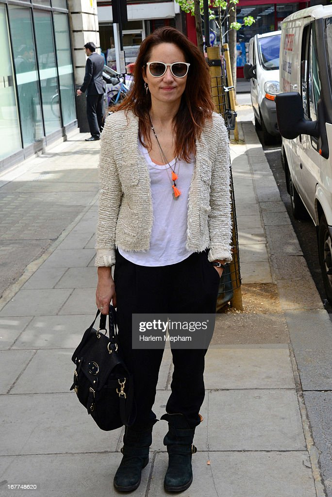 Singer KT Tunstall sighted at BBC Radio One on April 29, 2013 in London, England.