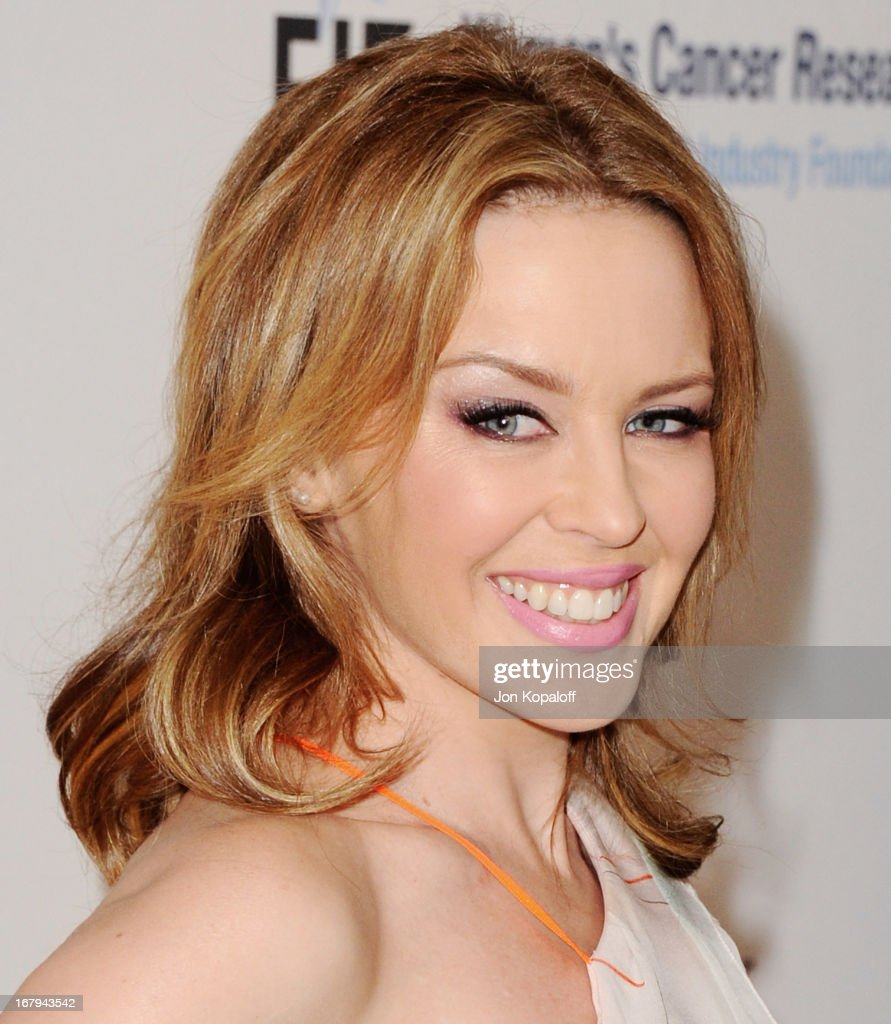 Singer <a gi-track='captionPersonalityLinkClicked' href=/galleries/search?phrase=Kylie+Minogue&family=editorial&specificpeople=201671 ng-click='$event.stopPropagation()'>Kylie Minogue</a> arrives at An Unforgettable Evening benefiting EIF's Women's Cancer Research Fund at the Beverly Wilshire Four Seasons Hotel on May 2, 2013 in Beverly Hills, California.