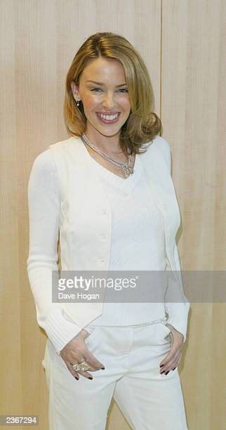 Singer Kylie Minogue at the rehearsals for the World Music awards in Monte Carlo Monaco 3/5/2002 Photo by Dave Hogan/Mission Pictures/Getty Images