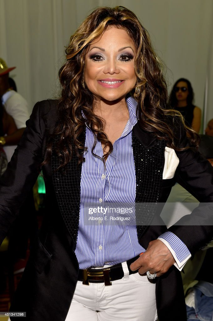 Singer La Toya Jackson attends day 1 of the Radio Broadcast Center during the BET Awards '14 on June 27, 2014 in Los Angeles, California.