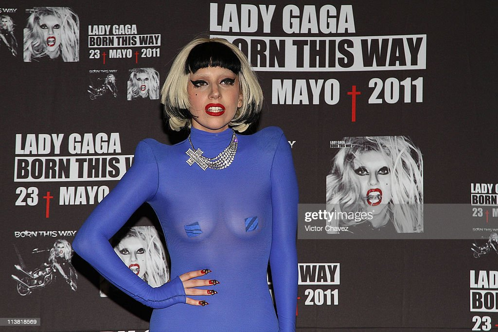 Singer <a gi-track='captionPersonalityLinkClicked' href=/galleries/search?phrase=Lady+Gaga&family=editorial&specificpeople=4456754 ng-click='$event.stopPropagation()'>Lady Gaga</a> attends a photocall and a press conference to promote her new album 'Born This Way' and the end of the 'Monster Ball Tour' at St. Regis Hotel on May 6, 2011 in Mexico City, Mexico.