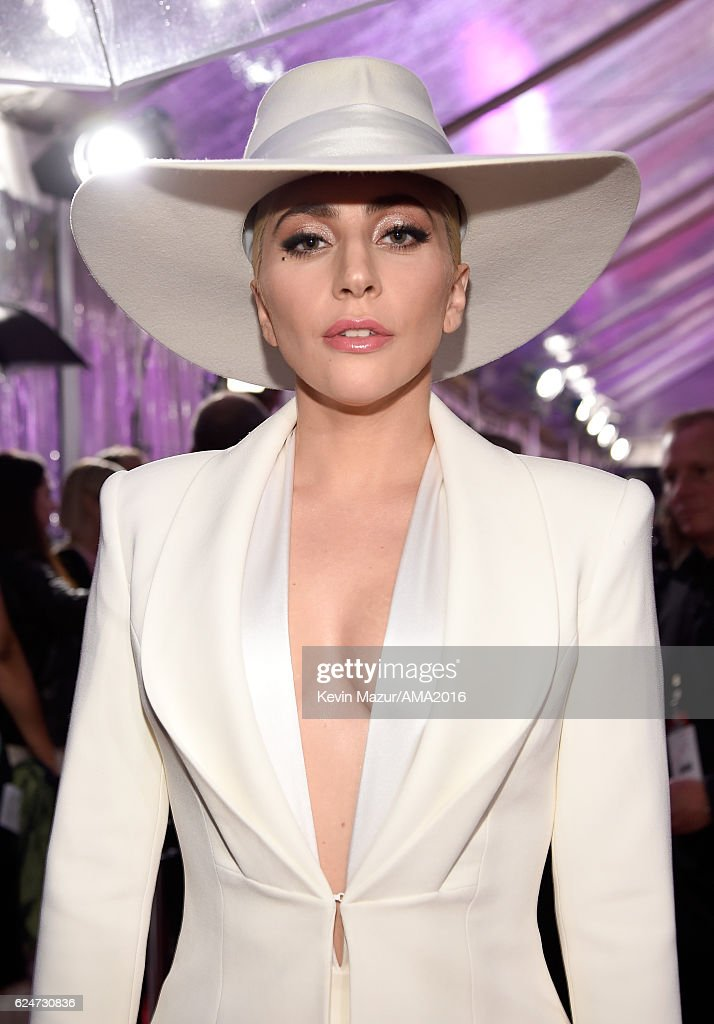 Singer Lady Gaga attends the 2016 American Music Awards at Microsoft Theater on November 20, 2016 in Los Angeles, California.