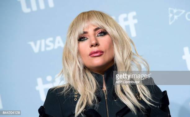 TOPSHOT Singer Lady Gaga attends the press conference for 'Gaga Five Foot Two' during the 2017 Toronto International Film Festival at TIFF Bell...