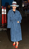 Singer Lady Gaga seen arriving at 'Good Morning America' taping at the ABC Times Square Studios on December 3 2014 in New York City