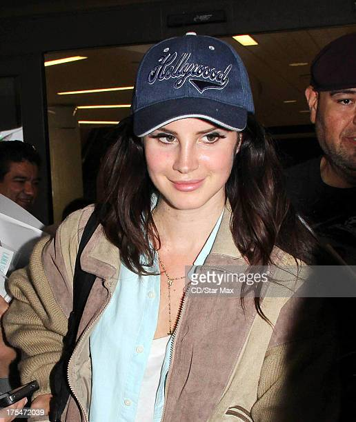Singer Lana Del Rey as seen on August 3 2013 in Los Angeles California