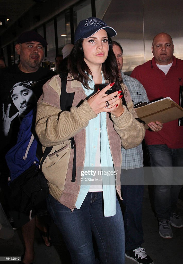Singer Lana Del Rey as seen on August 3, 2013 in Los Angeles, California.
