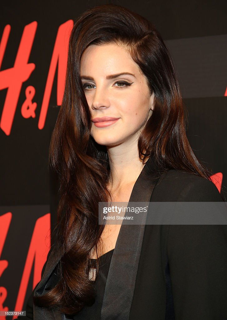 Singer Lana Del Rey attends HM's private concert with Lana Del Rey at The Wooly on September 19 2012 in New York City