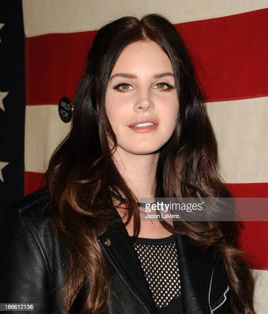 Singer Lana Del Rey attends Nylon Magazine's 'America The Issue' celebration at Sunset Marquis Hotel Villas on November 1 2013 in West Hollywood...