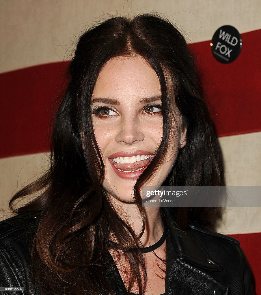 Singer Lana Del Rey attends Nylon Magazine's 'America The Issue' celebration at Sunset Marquis Hotel & Villas on November 1, 2013 in West Hollywood, California.
