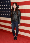 Singer Lana Del Rey attends the Nylon Magazine Celebration of 'America The Issue' With Lana Del Rey And Marvin ScottJarrett at Sunset Marquis Hotel...