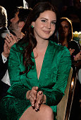 Singer Lana Del Rey attends the PreGRAMMY Gala and Salute to Industry Icons honoring Martin Bandier at The Beverly Hilton Hotel on February 7 2015 in...