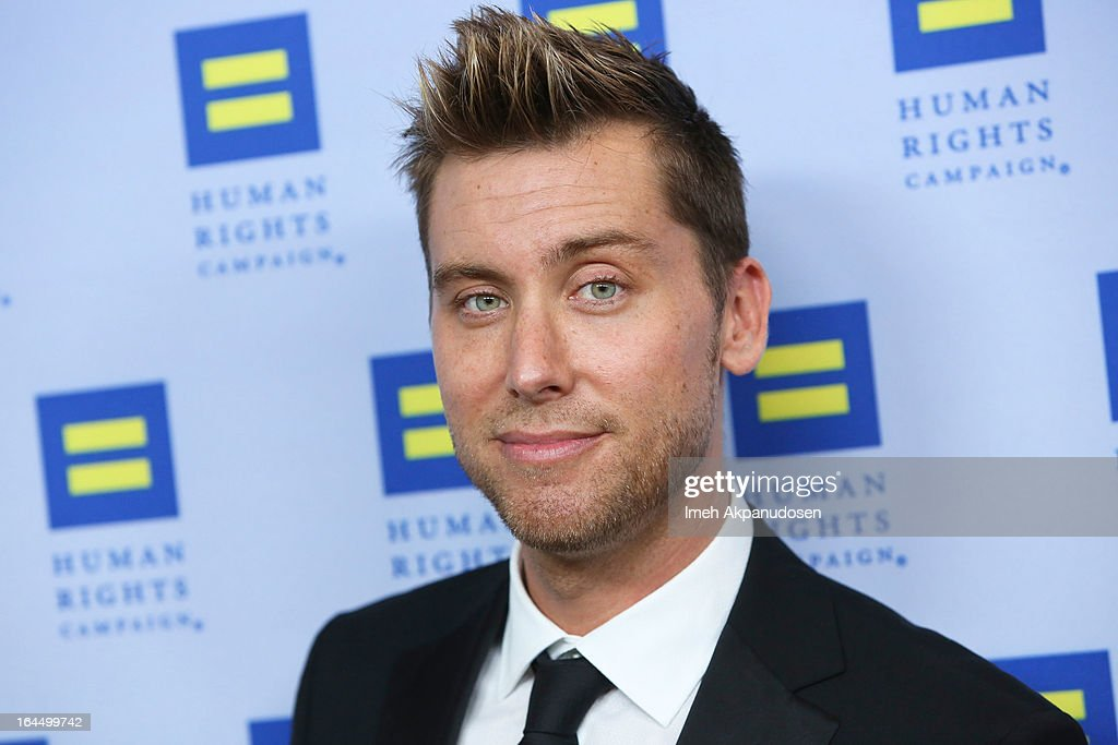 Singer <a gi-track='captionPersonalityLinkClicked' href=/galleries/search?phrase=Lance+Bass&family=editorial&specificpeople=210566 ng-click='$event.stopPropagation()'>Lance Bass</a> attends the 2013 Human Rights Campaign Los Angeles Gala at JW Marriott Los Angeles at L.A. LIVE on March 23, 2013 in Los Angeles, California.