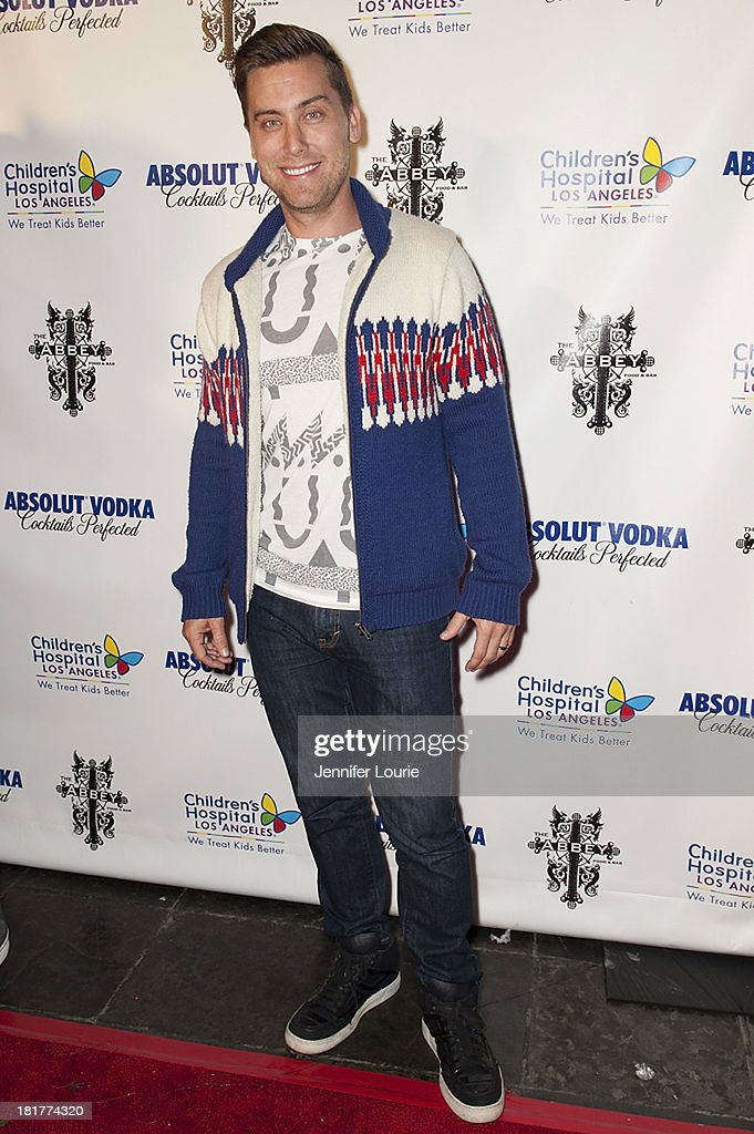 Singer <a gi-track='captionPersonalityLinkClicked' href=/galleries/search?phrase=Lance+Bass&family=editorial&specificpeople=210566 ng-click='$event.stopPropagation()'>Lance Bass</a> attends The Abbey's 8th Annual Christmas in September event benefiting The Children's Hospital Los Angeles at The Abbey on September 24, 2013 in West Hollywood, California.