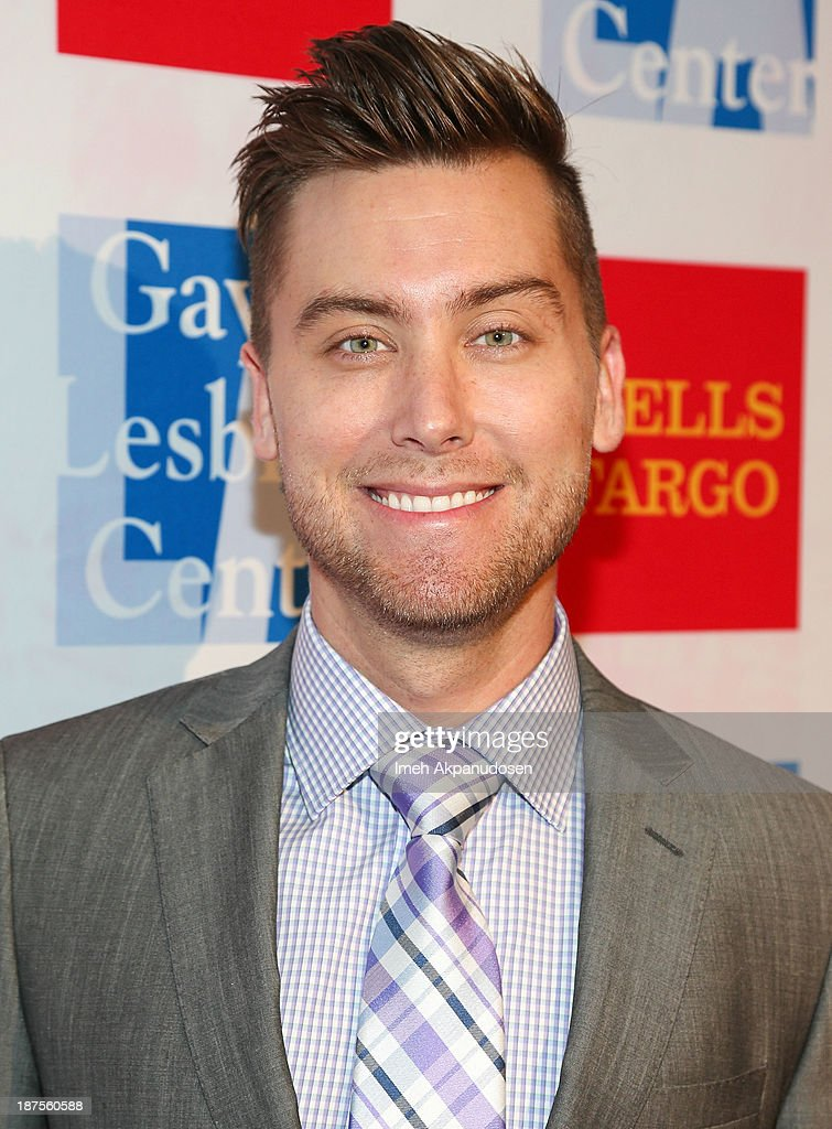 Singer <a gi-track='captionPersonalityLinkClicked' href=/galleries/search?phrase=Lance+Bass&family=editorial&specificpeople=210566 ng-click='$event.stopPropagation()'>Lance Bass</a> attends the L.A. Gay & Lesbian Center's 42nd Anniversary Vanguard Awards Gala at Westin Bonaventure Hotel on November 9, 2013 in Los Angeles, California.