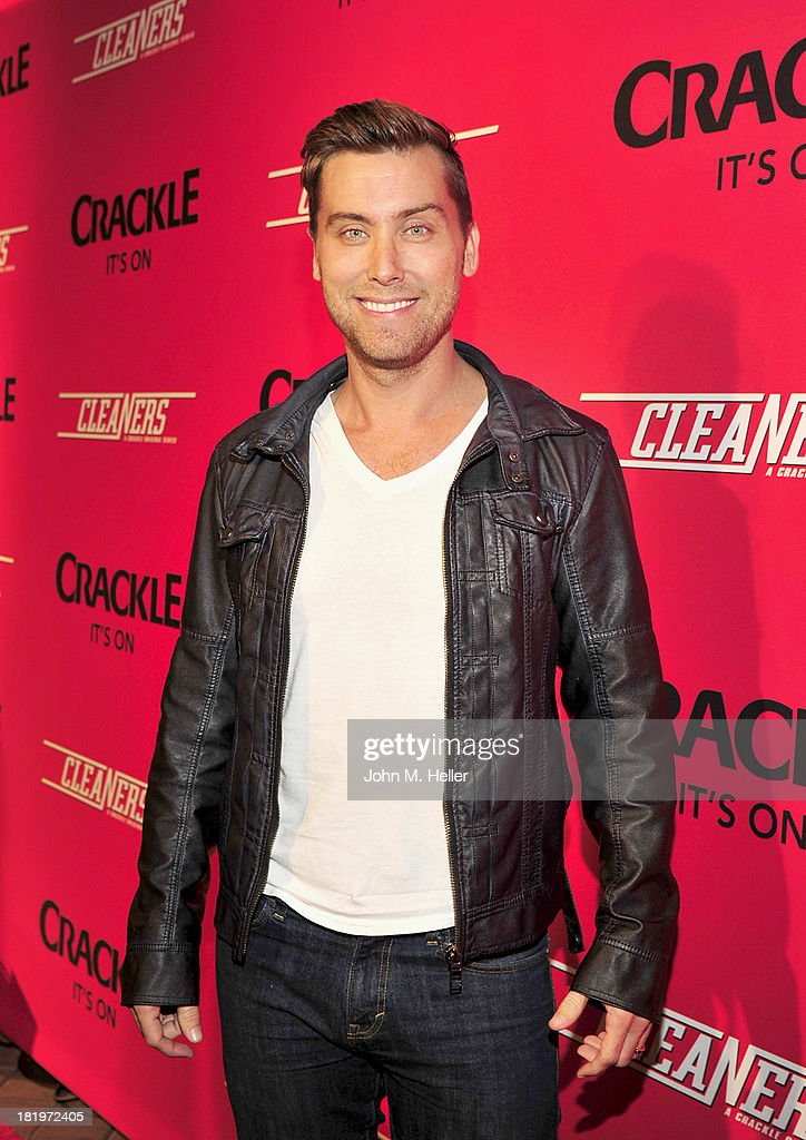 Singer <a gi-track='captionPersonalityLinkClicked' href=/galleries/search?phrase=Lance+Bass&family=editorial&specificpeople=210566 ng-click='$event.stopPropagation()'>Lance Bass</a> attends the premiere of Crackle's new original digital series 'Cleaners' at the Cary Grant Theater on the Sony Pictures Studio lot on September 26, 2013 in Culver City, California.