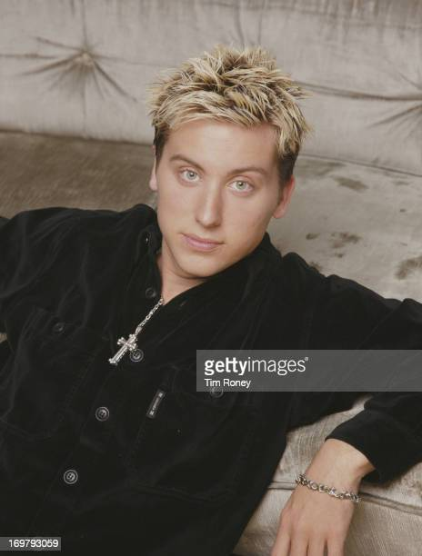 Singer Lance Bass of American boy band 'N Sync circa 2001