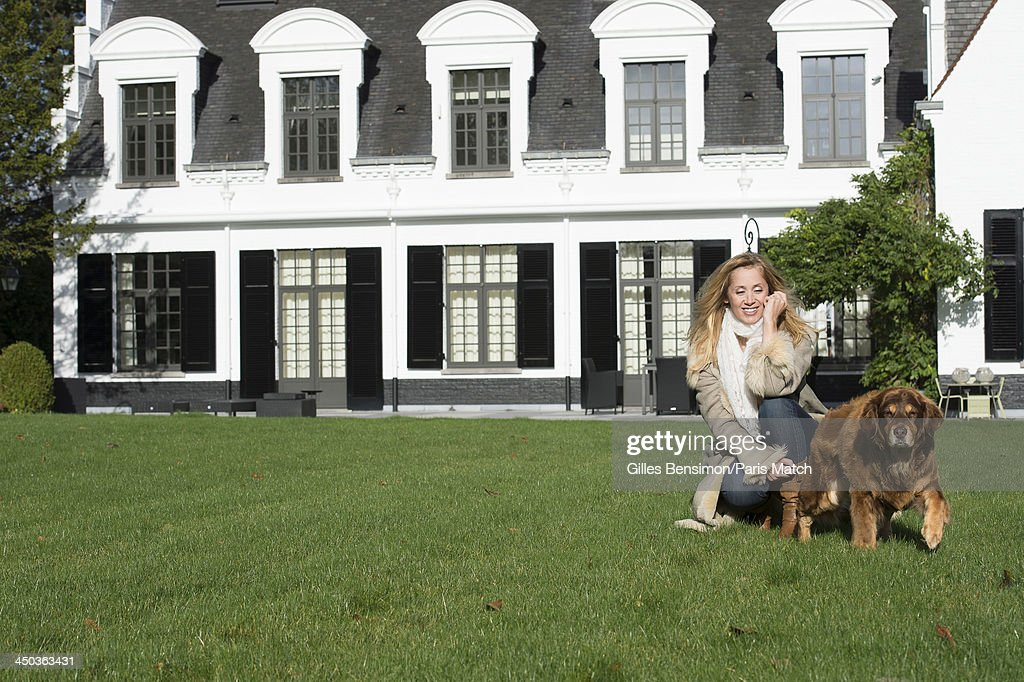 Singer <a gi-track='captionPersonalityLinkClicked' href=/galleries/search?phrase=Lara+Fabian&family=editorial&specificpeople=228901 ng-click='$event.stopPropagation()'>Lara Fabian</a> is photographed at home for Paris Match on November 9, 2013 in Waterloo, Belgium.