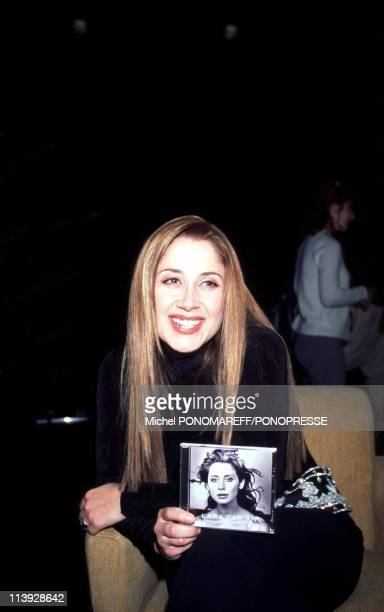 Singer Lara Fabian Launches Her First CD In English In Montreal Canada On November 31 1999Singer Lara Fabian Launches Her First CD In English