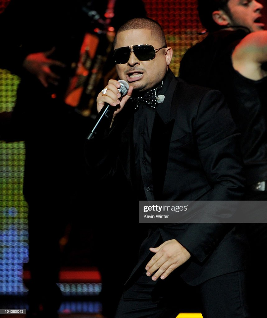 Singer Larry Hernandez performs at the Billboard Mexican Music Awards presented by State Farm on October 18, 2012 in Los Angeles, California.