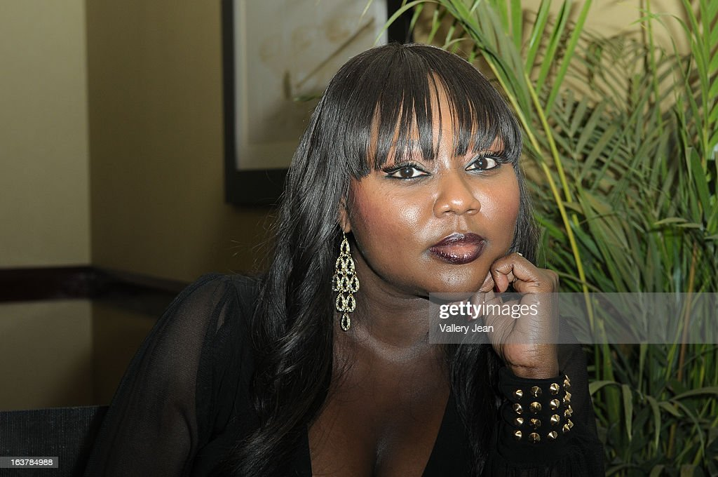 R&B singer LaTocha Scott attends the Jazz in the Gardens Women's Impact Conference and Luncheon at Shula's Hotel & Gold Club on March 15, 2013 in Miami Lakes, Florida.