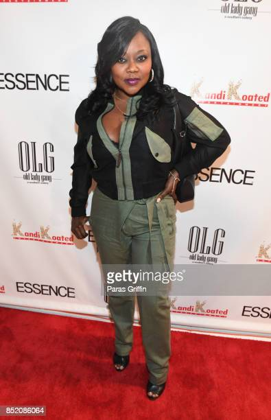Singer LaTocha Scott of Xscape at Essence Magazine Celebrates October Cover Star Kandi Burruss at Revel on September 22 2017 in Atlanta Georgia