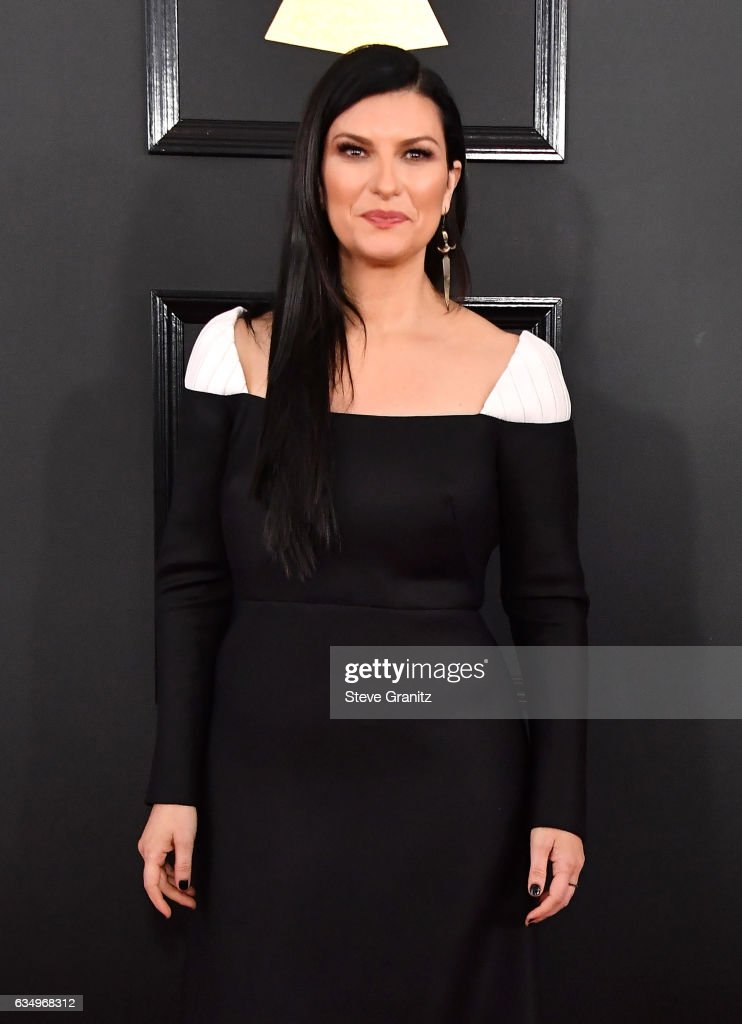 singer-laura-pausini-attends-the-59th-grammy-awards-at-staples-center-picture-id634968312
