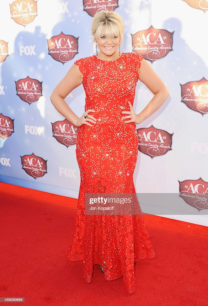 Singer Lauren Alaina arrives at the American Country Awards 2013 at the Mandalay Bay Events Center on December 10, 2013 in Las Vegas, Nevada.