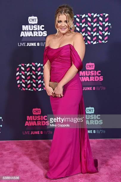 Singer Lauren Alaina attends the 2016 CMT Music awards at the Bridgestone Arena on June 8 2016 in Nashville Tennessee