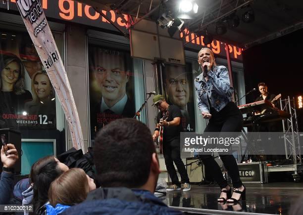 Singer Lauren Alaina performs on Fox Friends' AllAmerican Summer Concert Series at FOX Studios on July 7 2017 in New York City