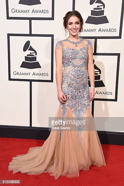 Singer Lauren Daigle attends The 58th GRAMMY Awards at Staples Center on February 15 2016 in Los Angeles California