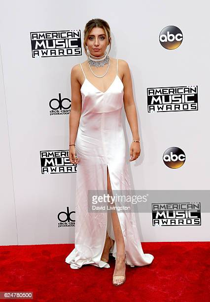 Singer Lauren Elizabeth attends the 2016 American Music Awards at Microsoft Theater on November 20 2016 in Los Angeles California