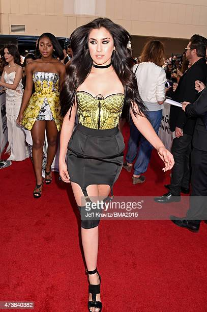 Singer Lauren Jauregui of Fifth Harmony attends the 2015 Billboard Music Awards at MGM Grand Garden Arena on May 17 2015 in Las Vegas Nevada