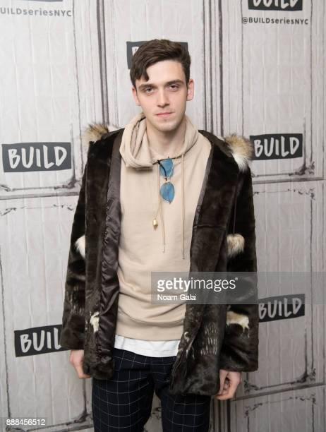 Singer Lauv visits Build Series at Build Studio on December 8 2017 in New York City