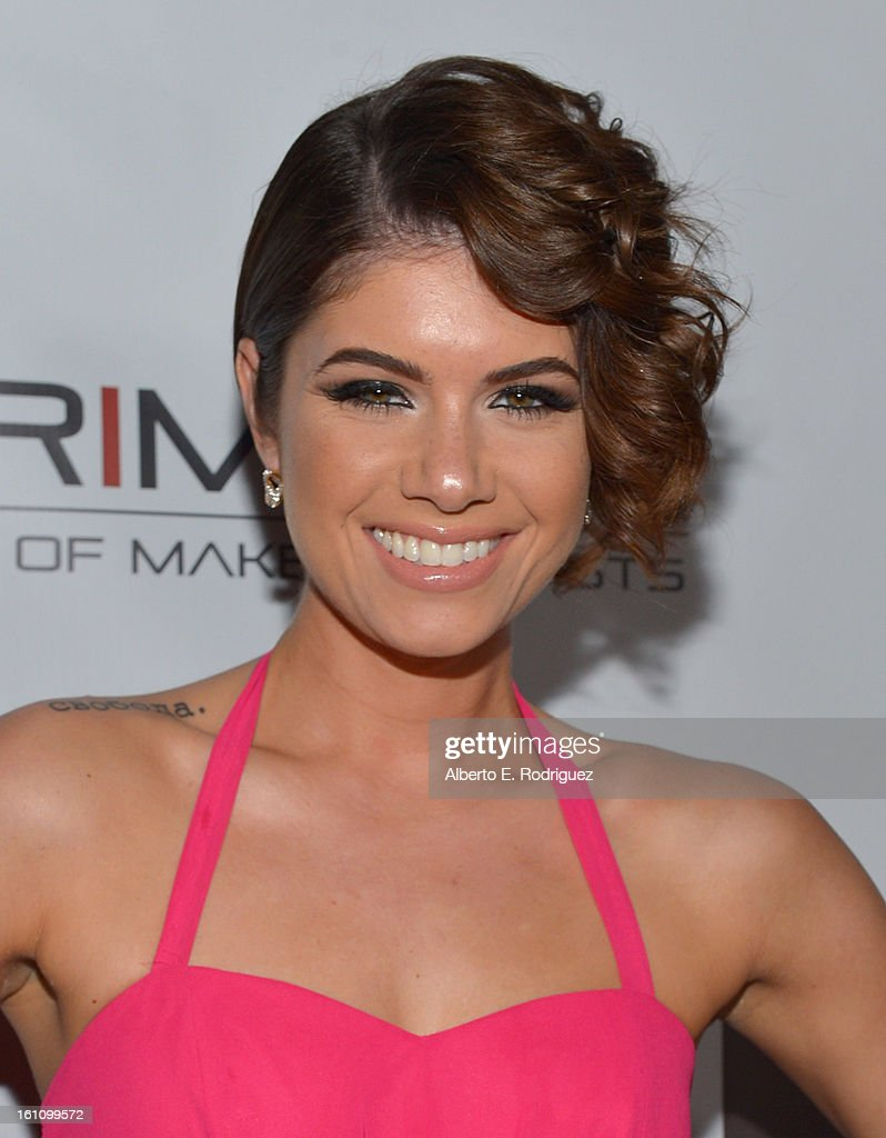 Singer Leah Labelle attends the BET Music Matters Grammy Showcase on February 8, 2013 in Los Angeles, California.